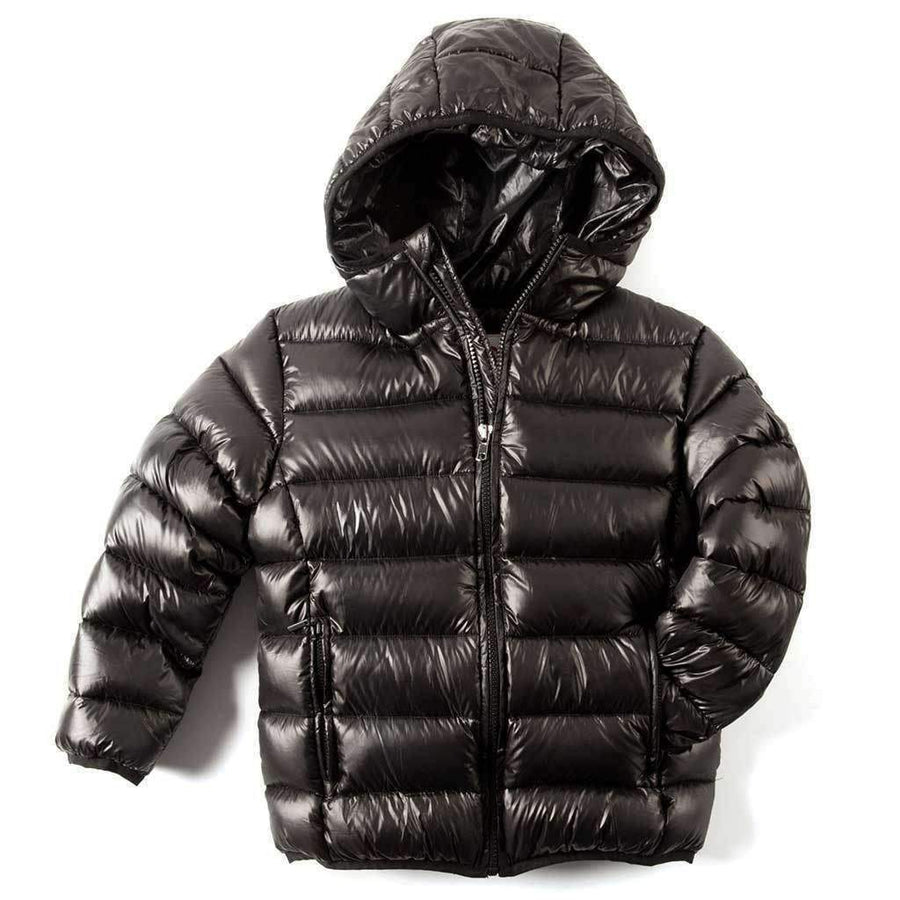 Appaman Black Featherweight Puffer Jacket