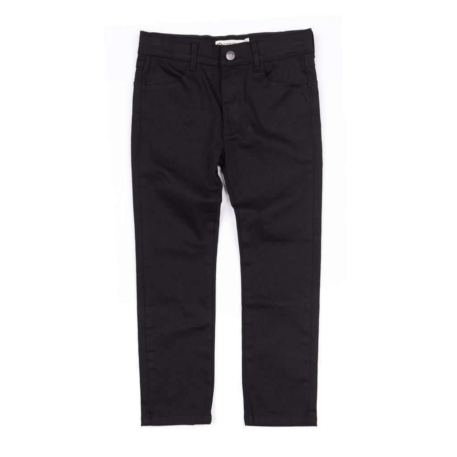 Appaman Black Skinny Twill Pant-Pants-Appaman-kids atelier