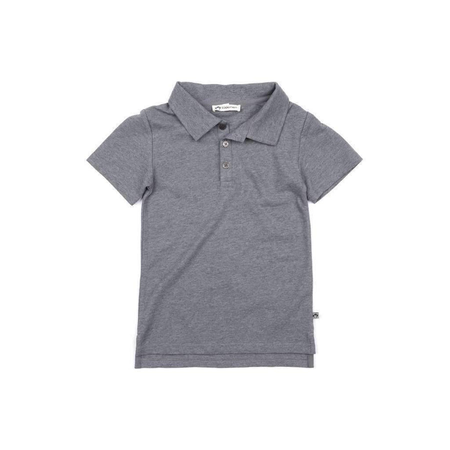 Appaman Dark Gray Fairbanks Polo-Shirts-Appaman-kids atelier