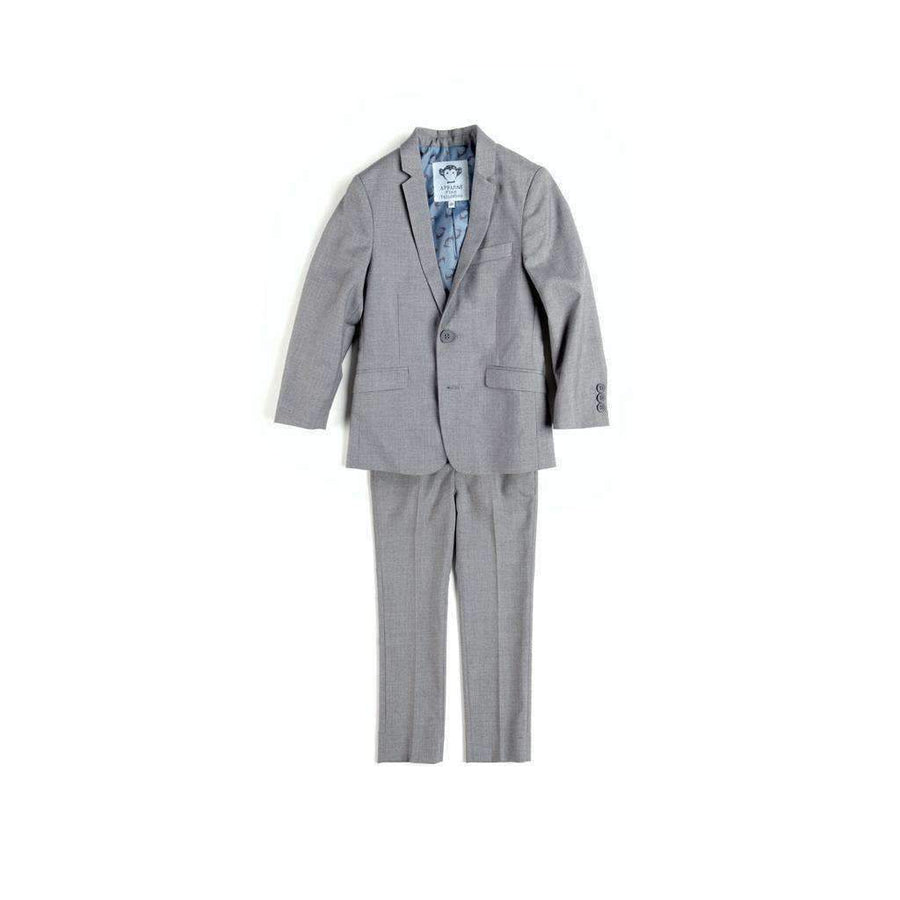 Appaman Gray Mist Mod Suit-Suits-Appaman-kids atelier