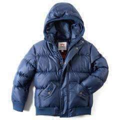 Appaman Navy Blue Puffy Coat-Outerwear-Appaman-kids atelier