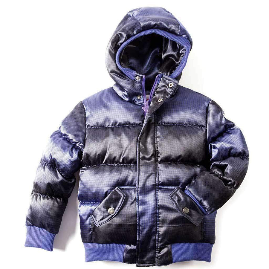 Appaman Purple Wave Puffy Coat-Outerwear-Appaman-kids atelier