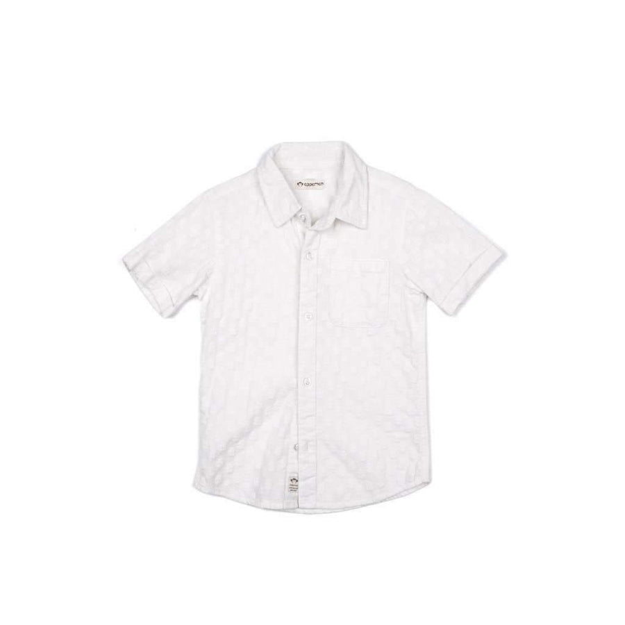 Appaman White Palms Playa Shirt-Shirts-Appaman-kids atelier