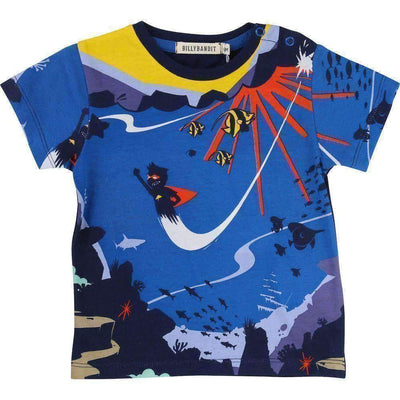 Bandit Super Hero T-Shirt-Shirts-Billybandit-kids atelier