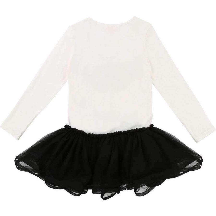 Billieblush Black & White Tutu Dress