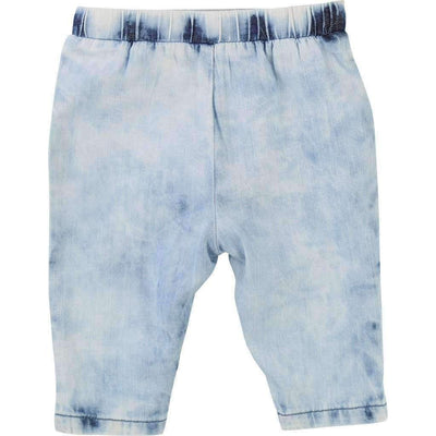Billieblush Denim Harem Pants-Pants-Billieblush-kids atelier