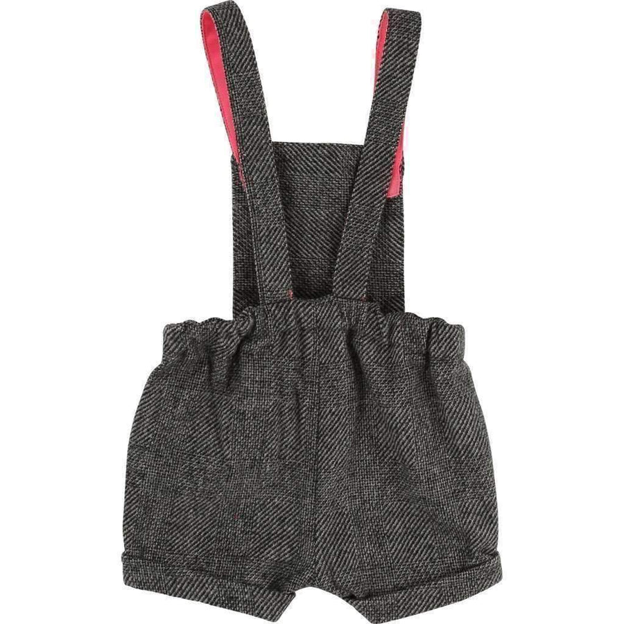 Billieblush Gray Tweed Overalls