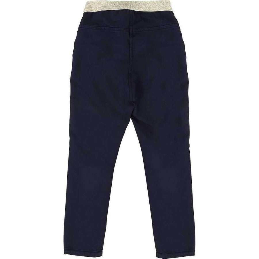 BIllieblush Navy Blue Jeggings-Pants-Billieblush-kids atelier