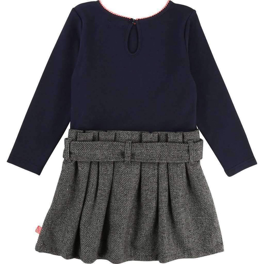 Billieblush Navy & Gray Bee Dress