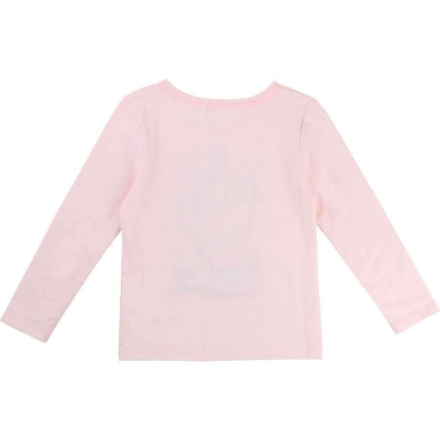 Billieblush Pink Fancy Cat Shirt