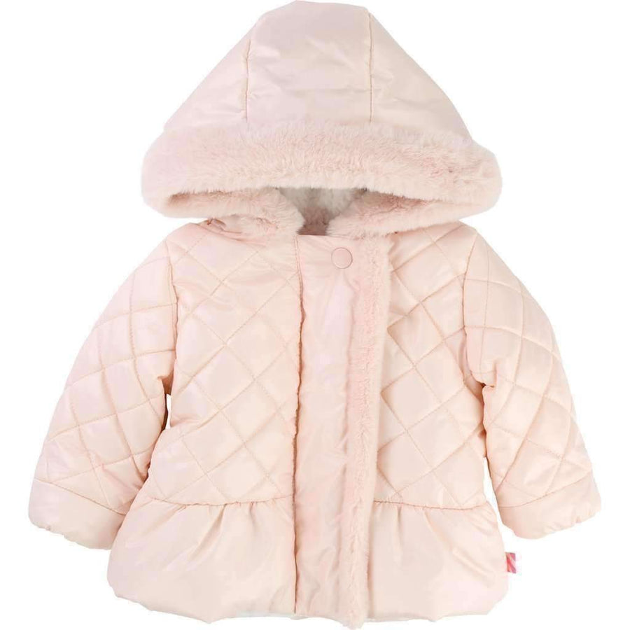 Billieblush Pink Hooded Puffer Jacket