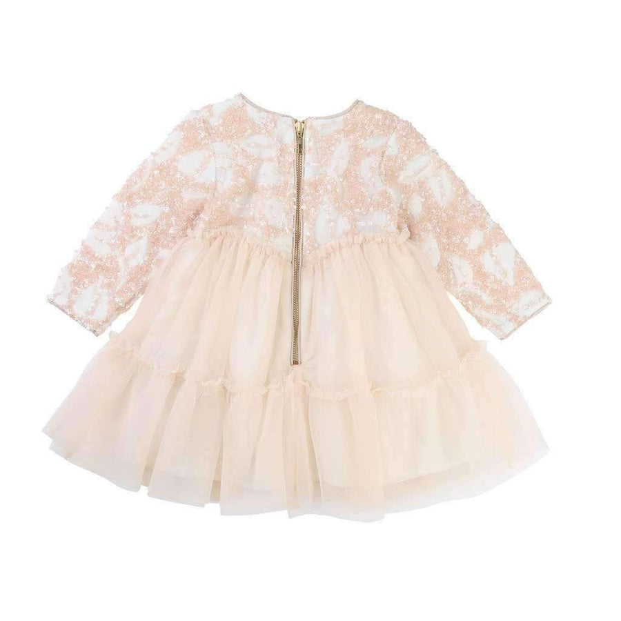 Billieblush Pink Sequin Tutu Dress-Dresses-Billieblush-kids atelier