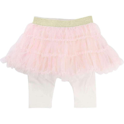 Billieblush Pink Tutu Skirt + Leggings-Skirts-Billieblush-kids atelier