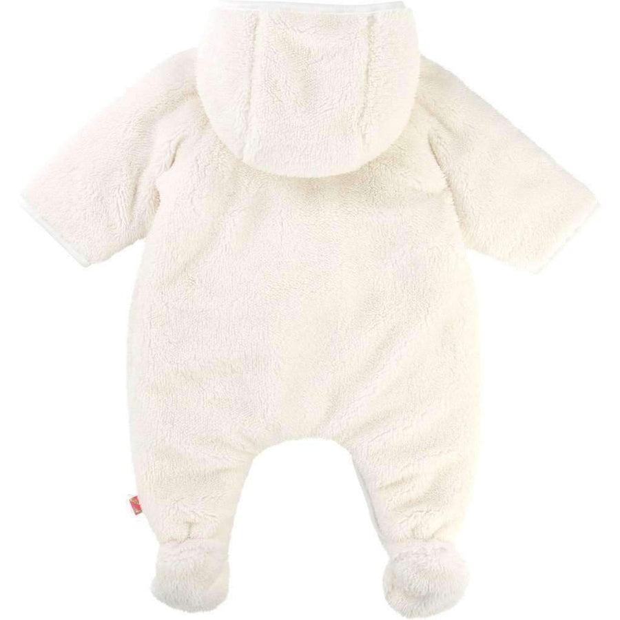 Billieblush White Fur Snowsuit