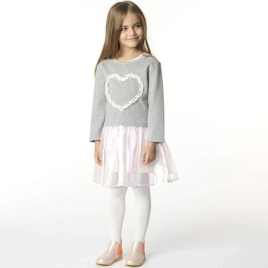Billieblush White Glitter Knitted Tights