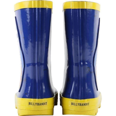 BillyBandit Blue Rocket Rain Boots-Shoes-Billybandit-kids atelier