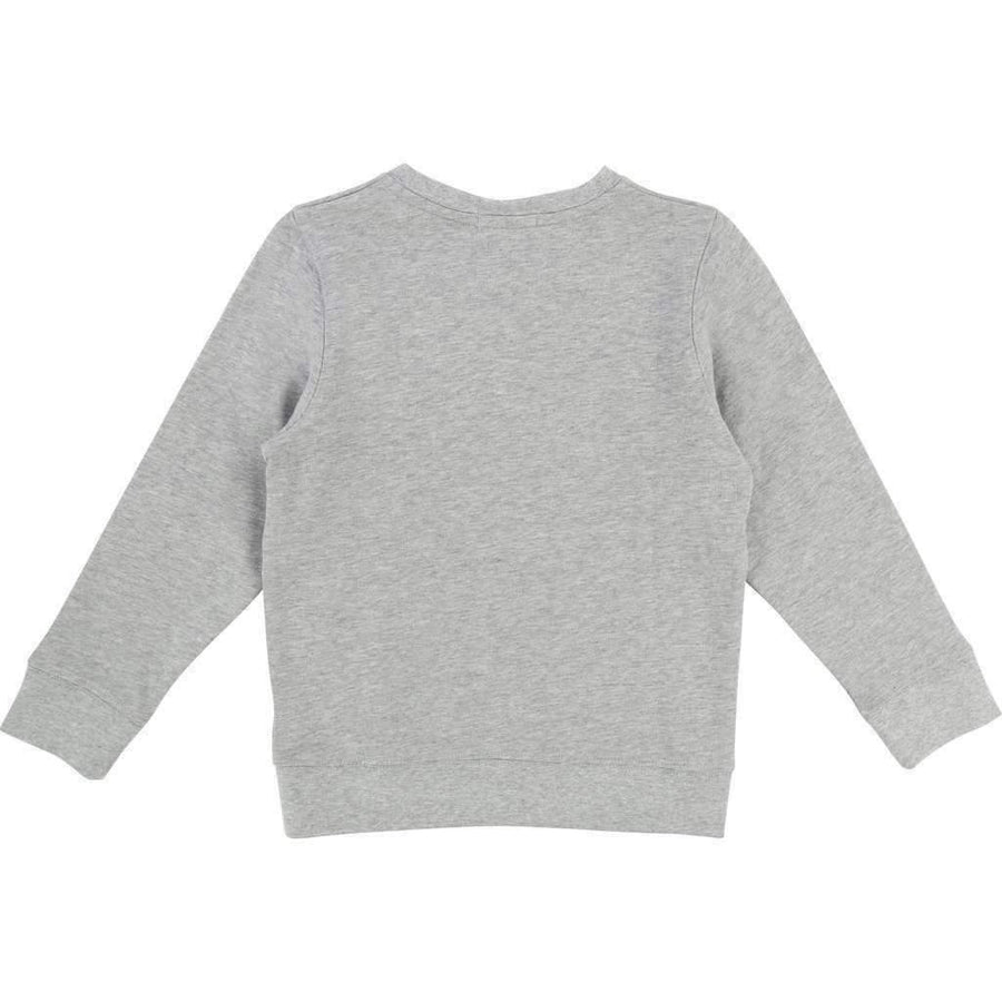 BillyBandit Gray Jungle Lion Sweatshirt-Shirts-Billybandit-kids atelier