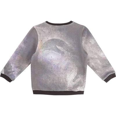 BillyBandit Gray Space Dust Sweatshirt-Shirts-Billybandit-kids atelier