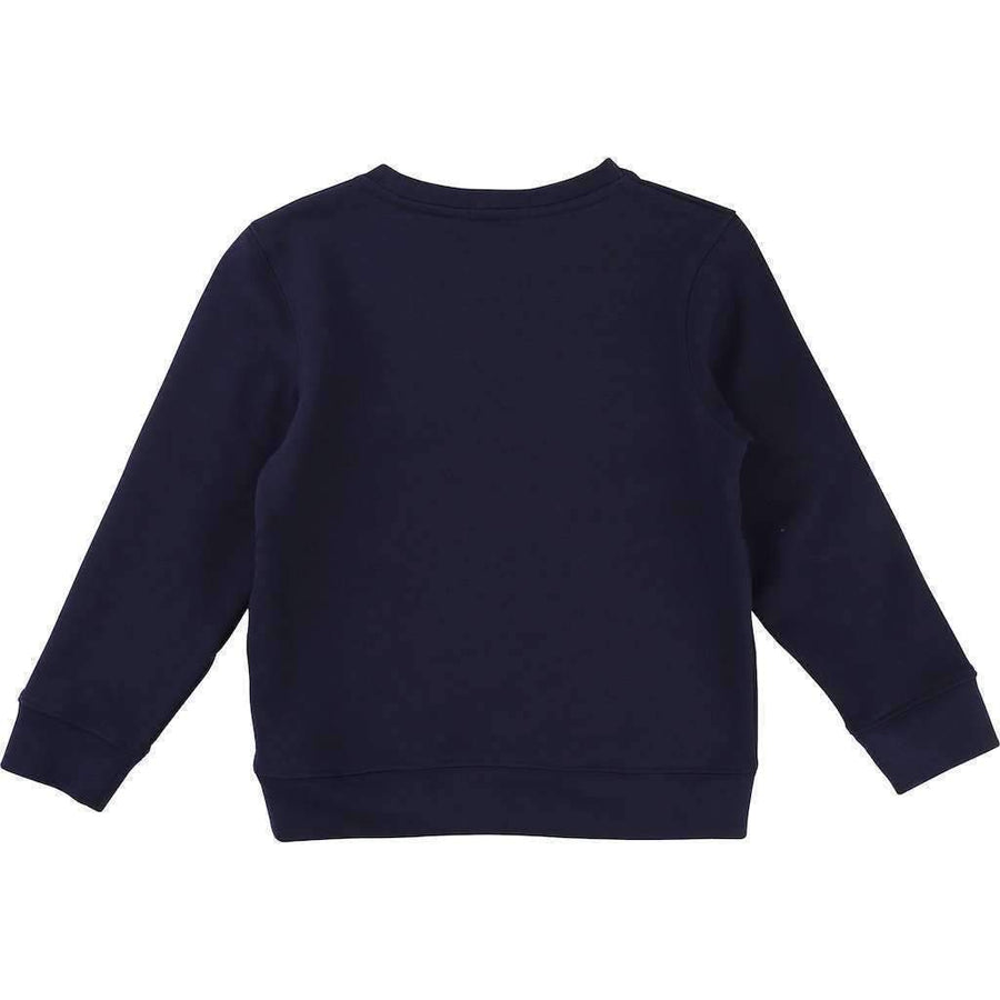 BillyBandit Navy Blue Space Sweatshirt-Shirts-Billybandit-kids atelier