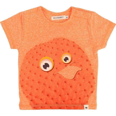 BillyBandit Orange Cactus T-Shirt-Shirts-Billybandit-kids atelier