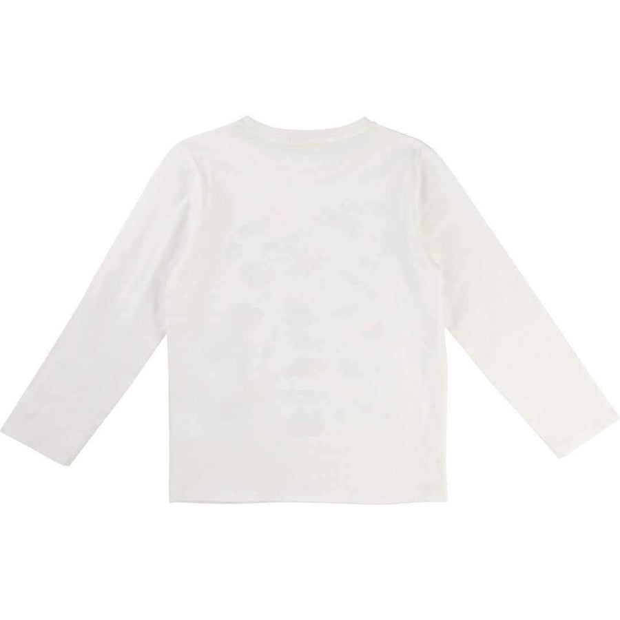 BillyBandit White Space Ship Shirt-Shirts-Billybandit-kids atelier
