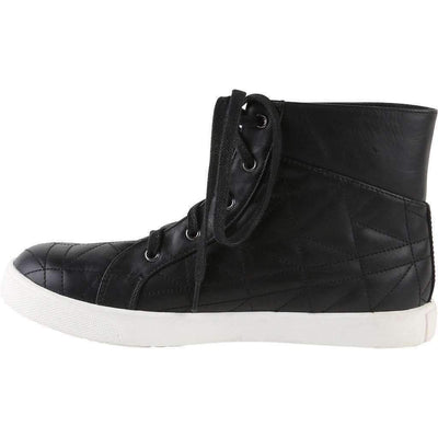 Black Leather High Tops-Shoes-Karl Lagerfeld-kids atelier