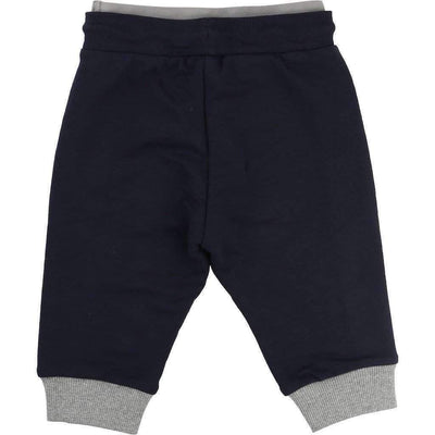 Black Sweat Pants-Pants-BOSS-kids atelier