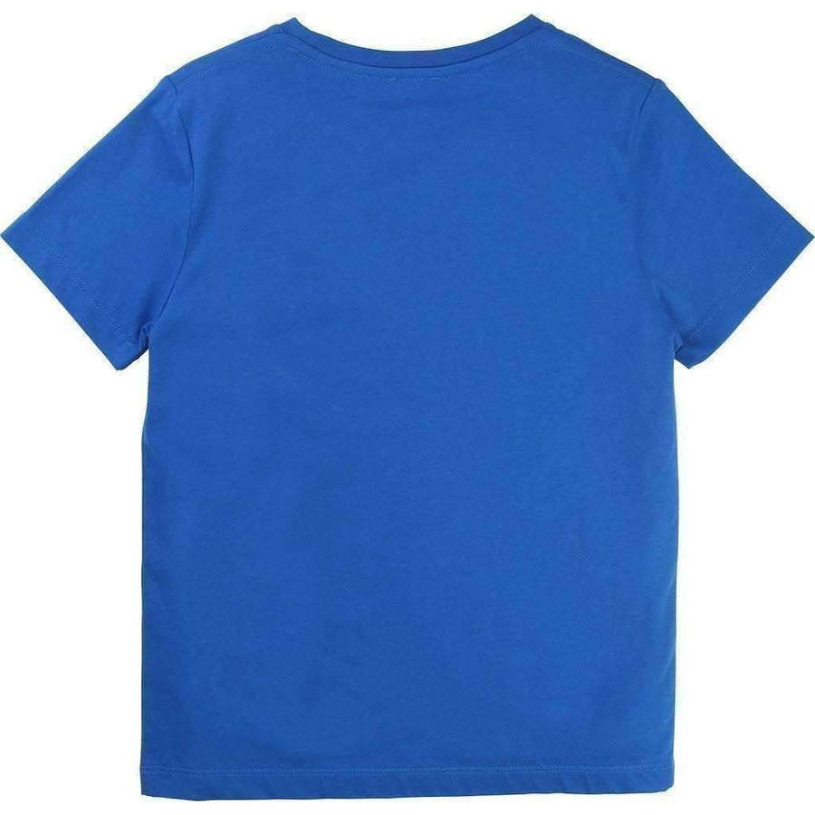 Blue Brand Letters T-Shirt
