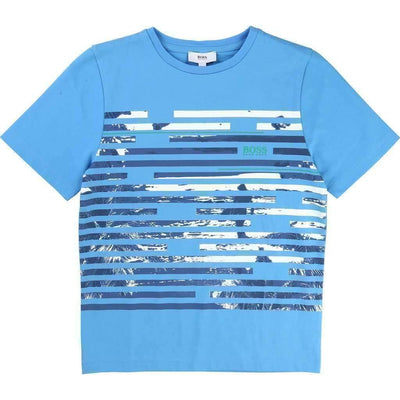 Blue Horizon T-Shirt-Shirts-BOSS-kids atelier