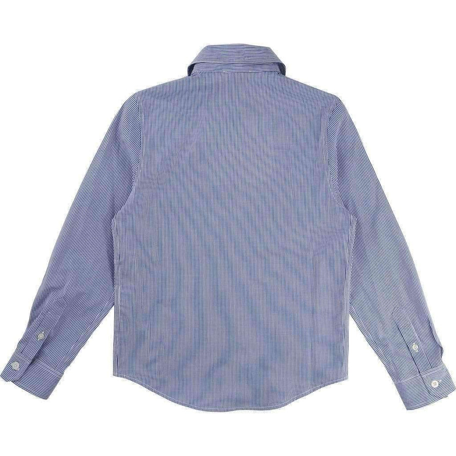 Boss Blue Striped Shirt