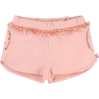 Blush Fleece Shorts-Shorts-Billieblush-kids atelier