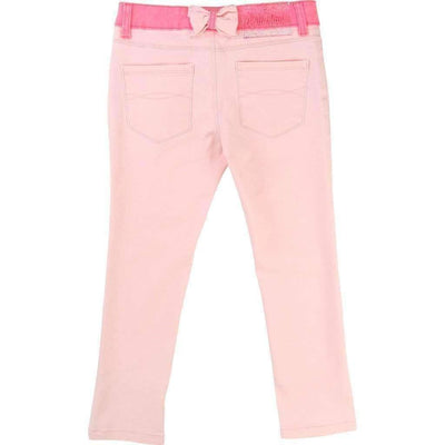 Blush Pink Pants-Pants-Billieblush-kids atelier