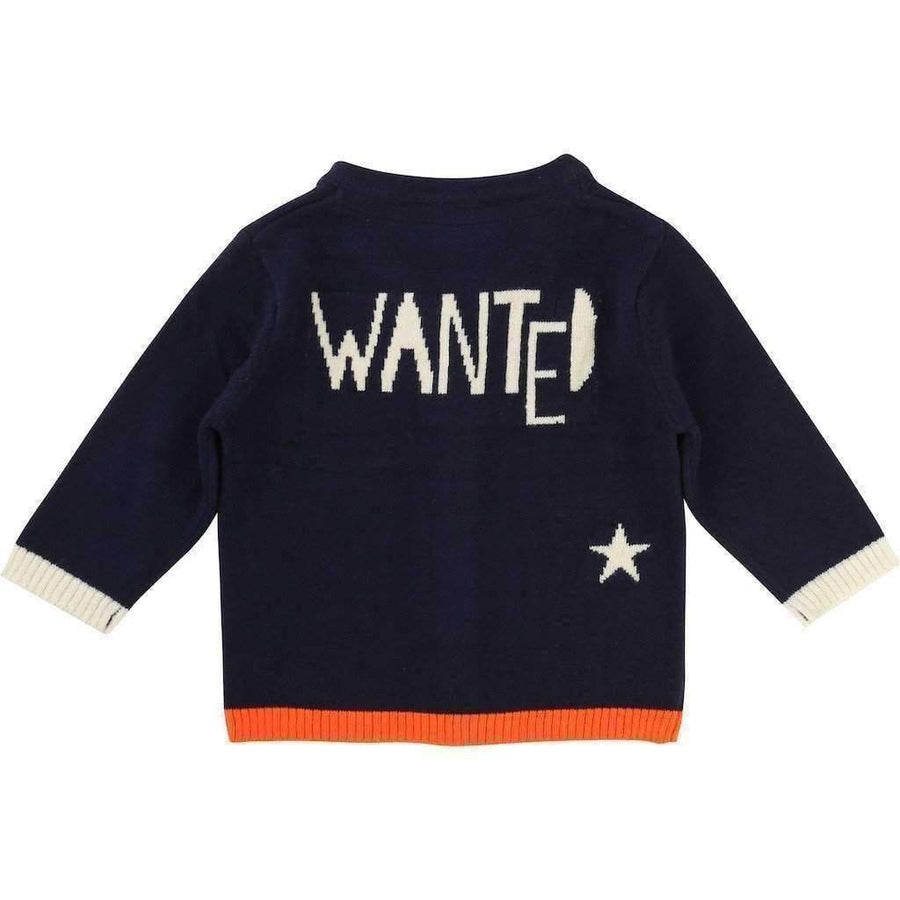 BollyBandit Wanted Navy Blue Cardigan