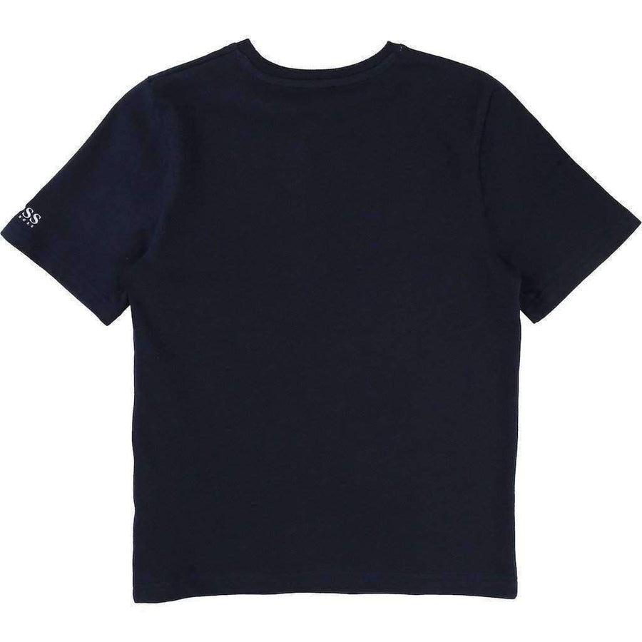 Boss Black Anchor Tee Shirt-Shirts-BOSS-kids atelier
