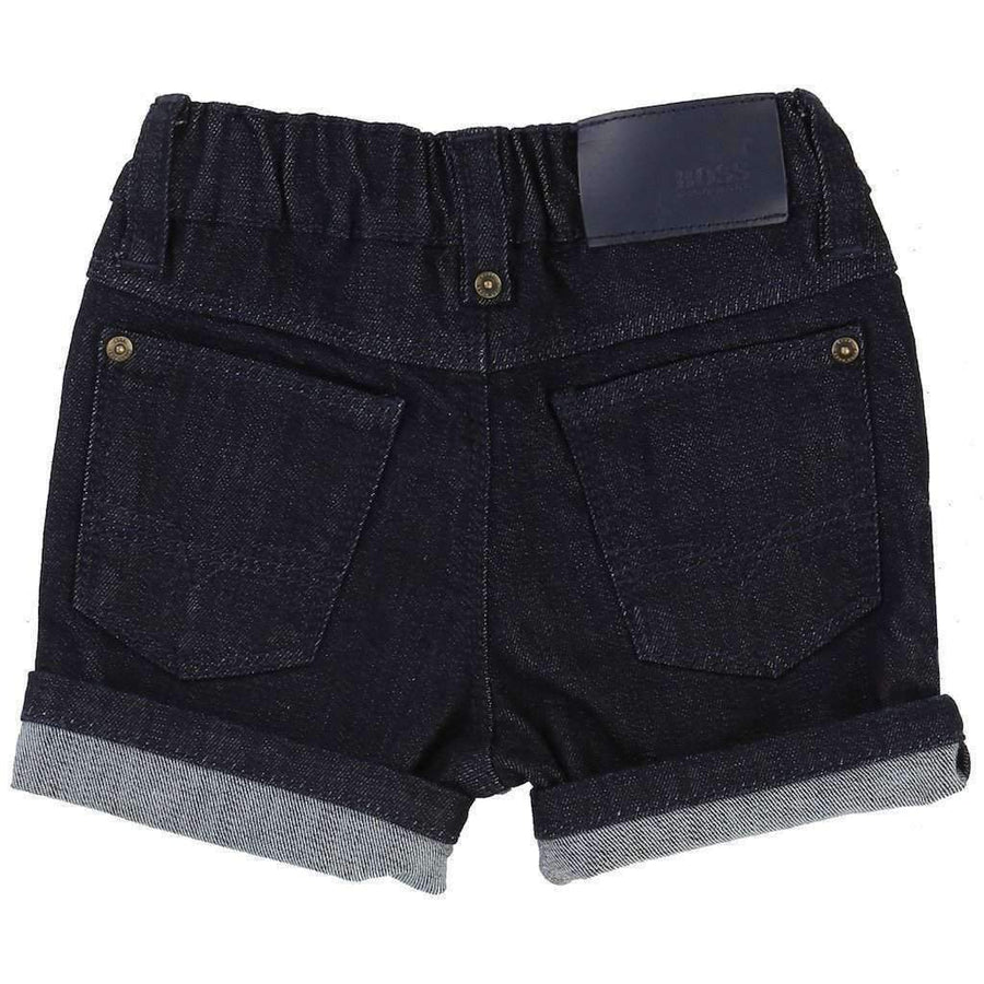 Boss Denim Bermuda Shorts-Shorts-BOSS-kids atelier
