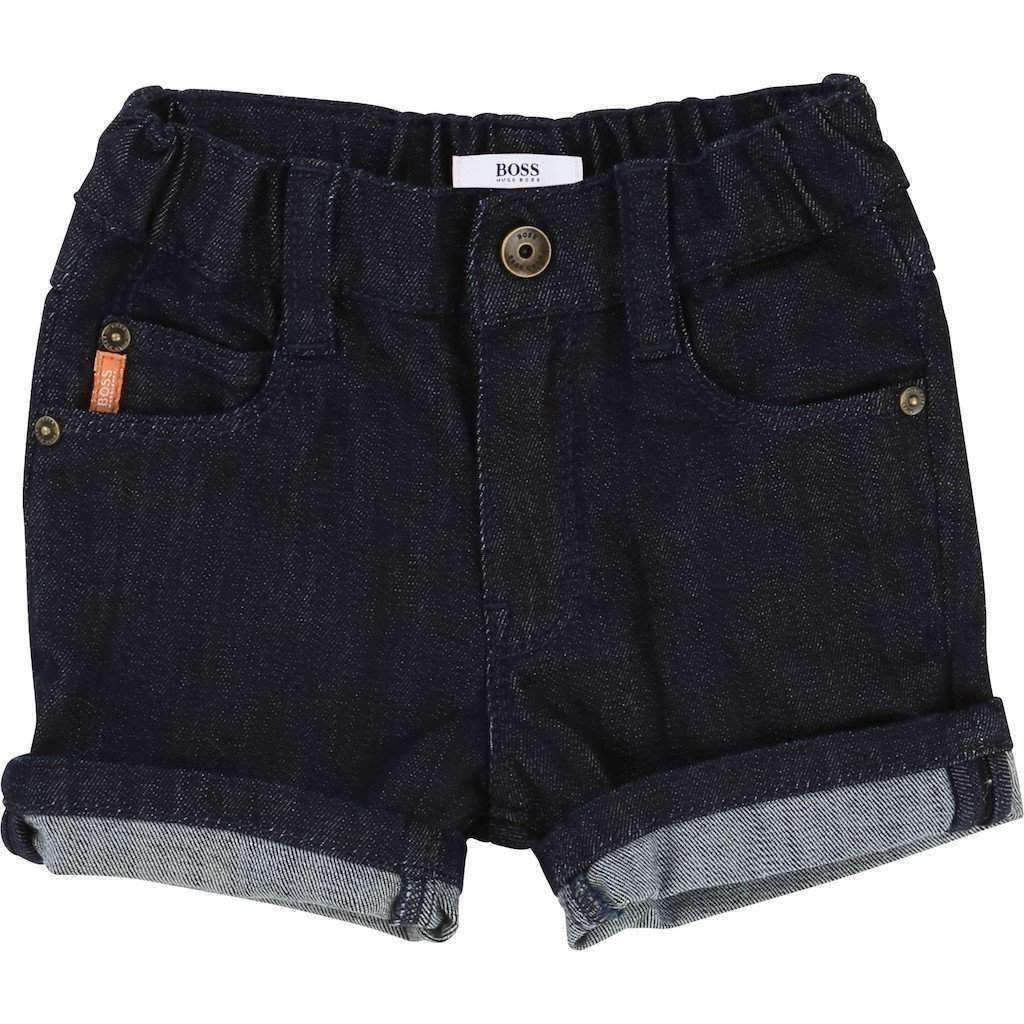 66f189d24 Boss Denim Bermuda Shorts-Shorts-BOSS-kids atelier
