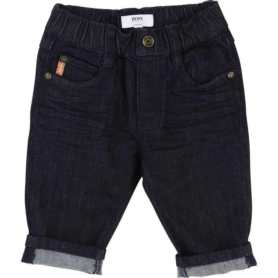 Boss Denim Trousers-Shorts-BOSS-kids atelier