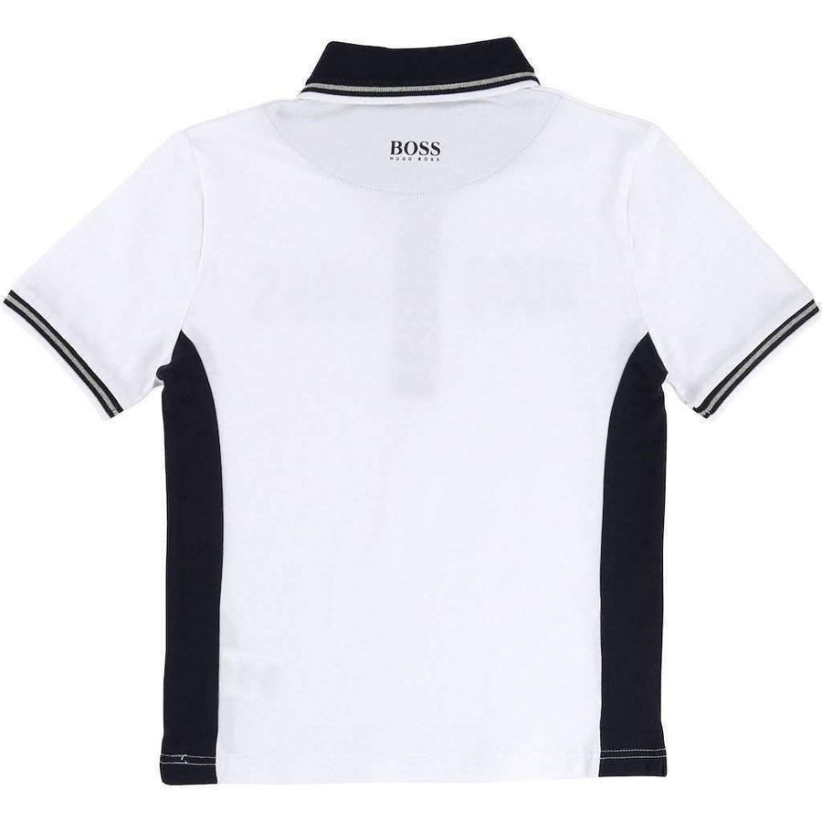Boss Fancy Logo Polo Shirt