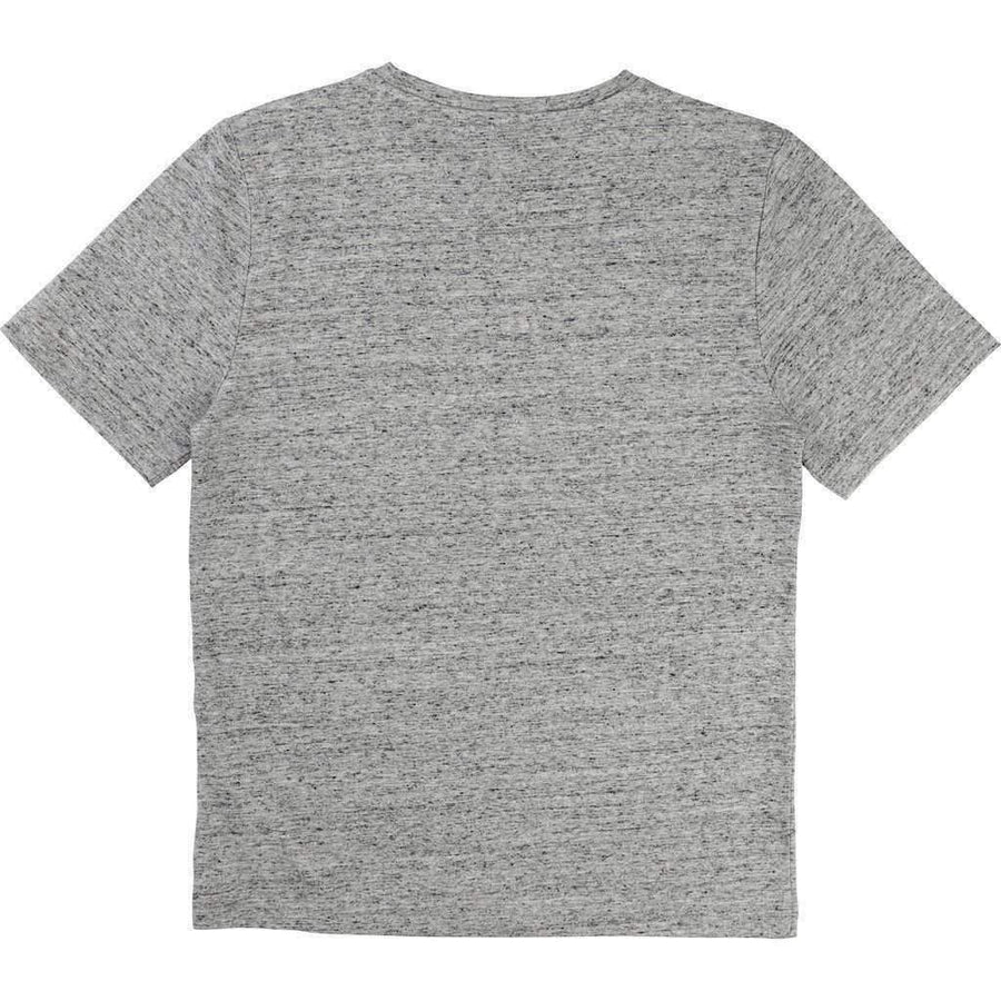 Boss Gray Cubist T-Shirt-Shirts-BOSS-kids atelier