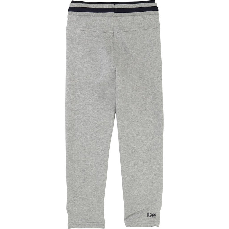 Boss Gray Fleece Sweat Pants