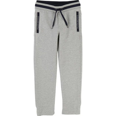 Boss Gray Fleece Sweat Pants-Pants-BOSS-kids atelier