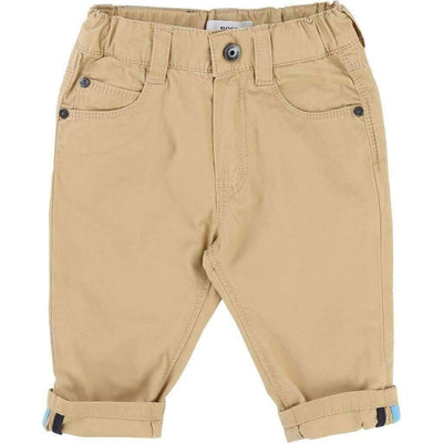 Boss Khaki Twill Pants-Pants-BOSS-kids atelier