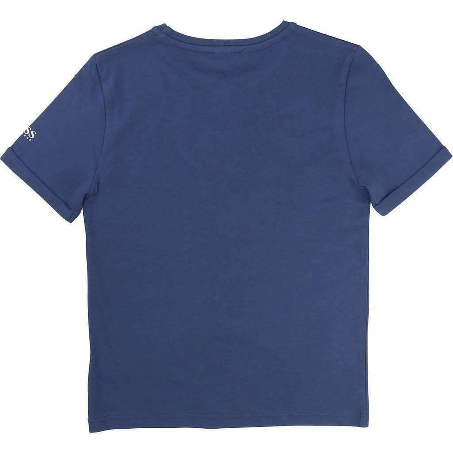 Boss Mid-Blue T-Shirt