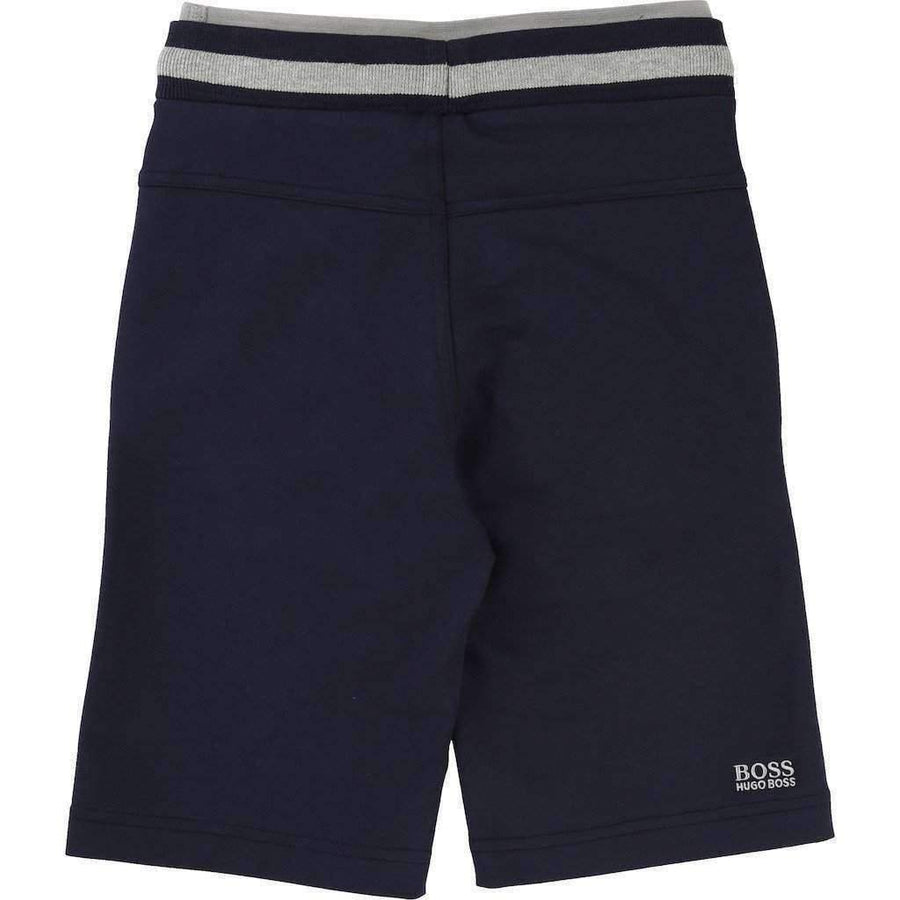 Boss Navy Bermuda Shorts