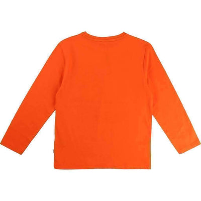 Boss Orange Flag Logo Shirt-Shirts-BOSS-kids atelier