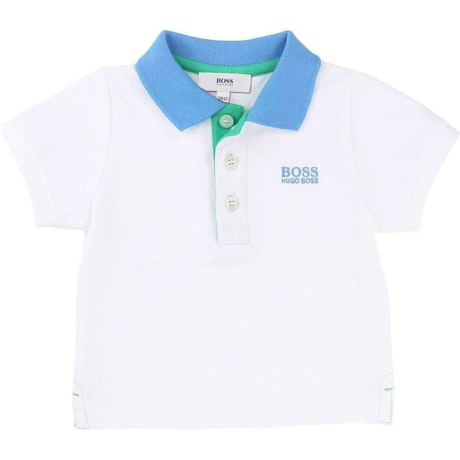 Boss Polo & Shorts Set