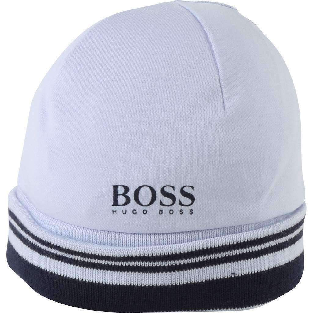 a0cdb69a352 Boss Printed Hat Baby Blue-Accessories-BOSS-kids atelier