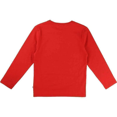 Boss Red Illusion Logo Shirt-Shirts-BOSS-kids atelier