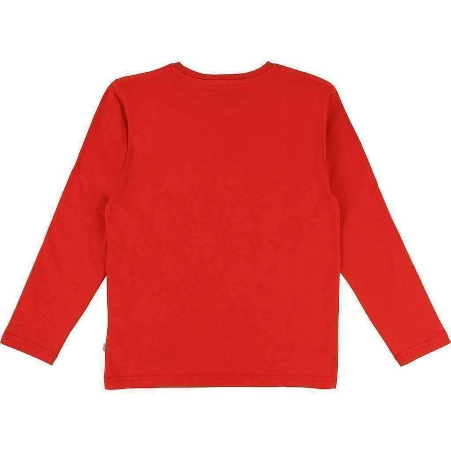Boss Red Tile Logo Shirt-Shirts-BOSS-kids atelier