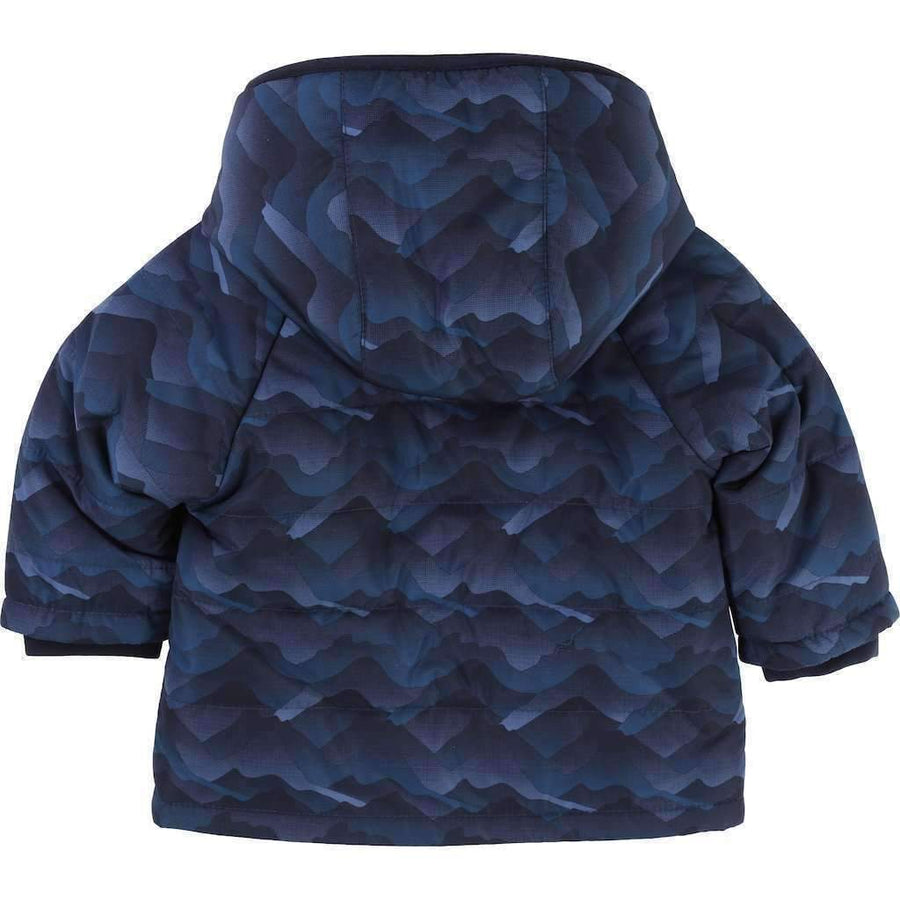 Boss Slate Blue Puffer Jacket
